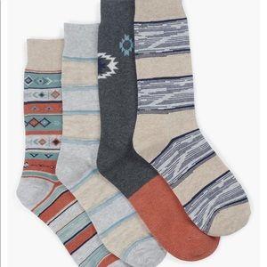 Mens Diamond Crew Socks 🧦 Lucky Brand